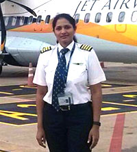 Jet Airways staff
