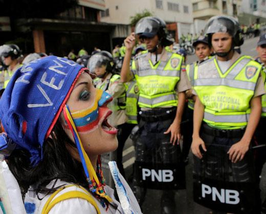 AFP: la fractura social en Venezuela