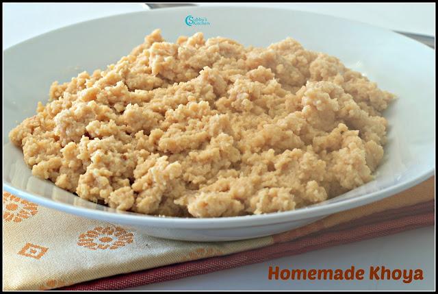 Homemade Khoya Recipe | How to make Mawa at Home