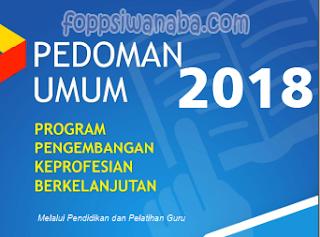 PEDOMAN UMUM, PROGRAM PKB TAHUN 2018 Terbaru..