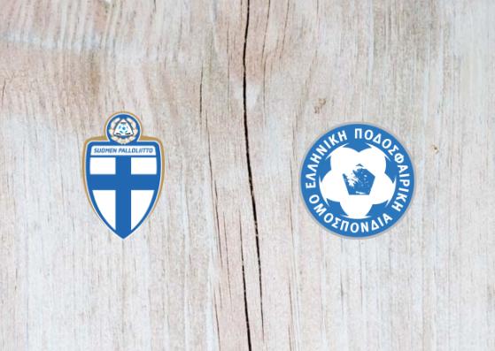 Finland vs Greece - Highlights 15 October 2018
