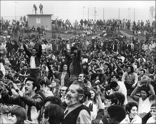 Chicano Moratorium (Mexican American anti-Vietnam War movement), Los Angeles, 1970 Photo: Oscar Castillo; © Oscar Castillo