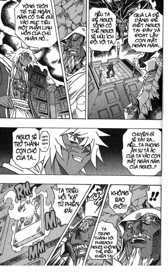 YUGI-OH! chap 299 - cuộc tấn công vào cung điện trang 3