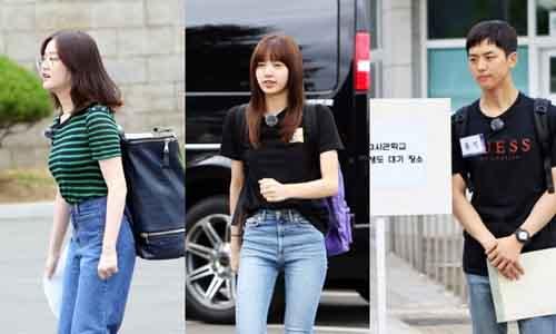 Lee Yoo Bi Lisa Black Pink And Hongseok Pentagon Started Filming