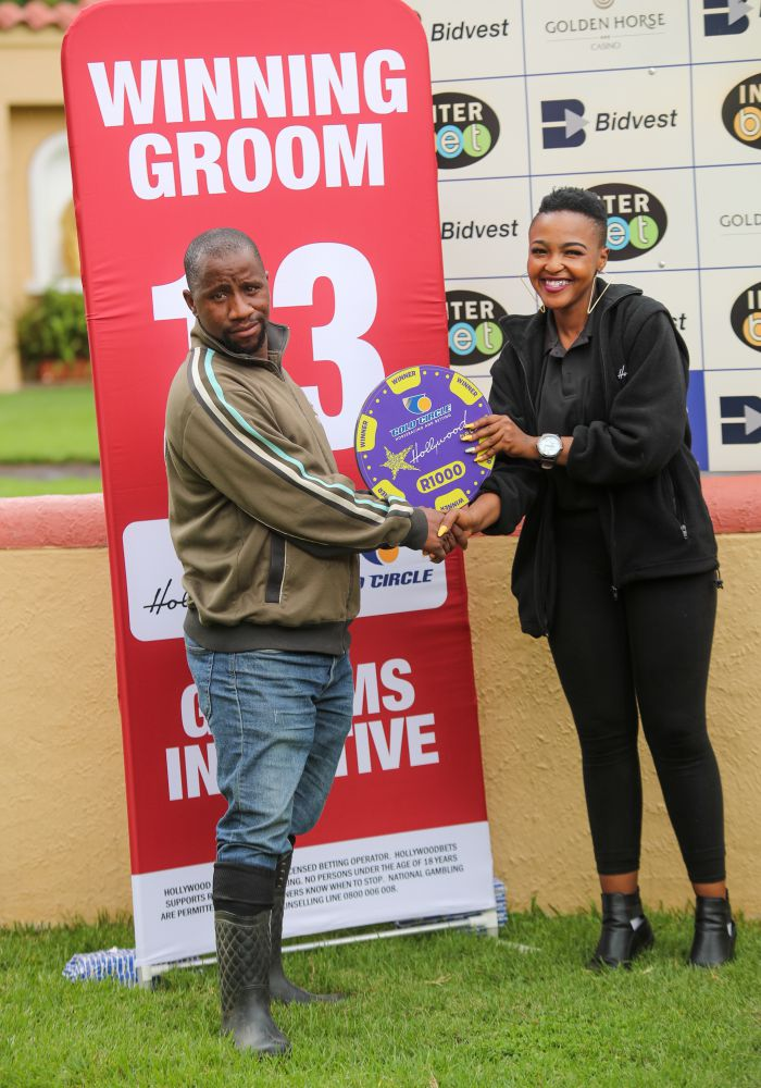 Grooms Initiative Winner - 22nd December 2019 - Race 2 - Thabiso Mbendeni - CAPTAIN OF COLOUR
