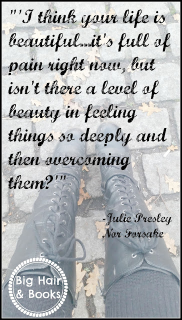 Quote from Nor Forsake by Julie Presley #NorForsake #the4500