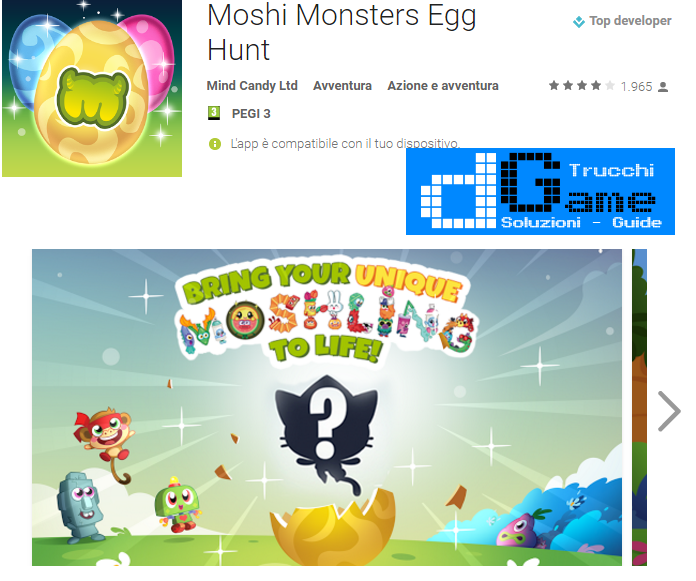 Trucchi Moshi Monsters Egg Hunt Mod Apk Android v1.2