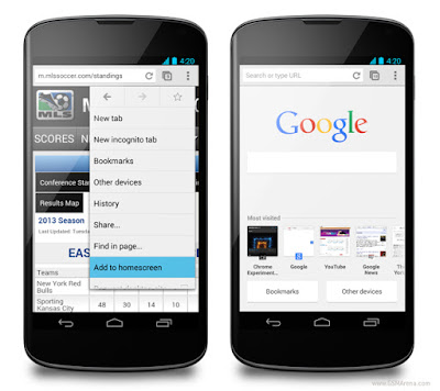 chrome browser android terbaik