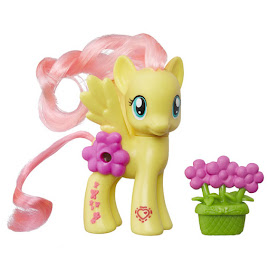 MLP Magical Scenes Fluttershy Brushable Figure