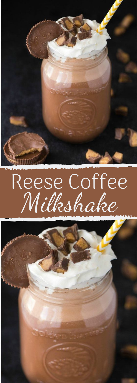 Reese Coffee Milkshake #drink #kidfriendly