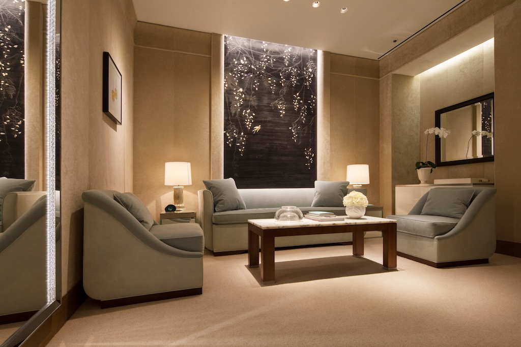 Private suite at Tiffany & Co. Bal Harbour Shops