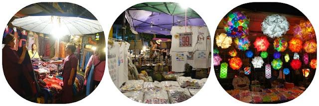 Thailand, Chiang Mai, walking street market