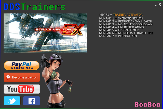 Strike Vector Ex Trainers and Cheats for PC