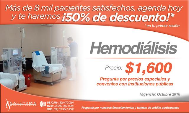Centro de tratamiento nefrologico renal riñon hemodialisis en guadalajara mexico