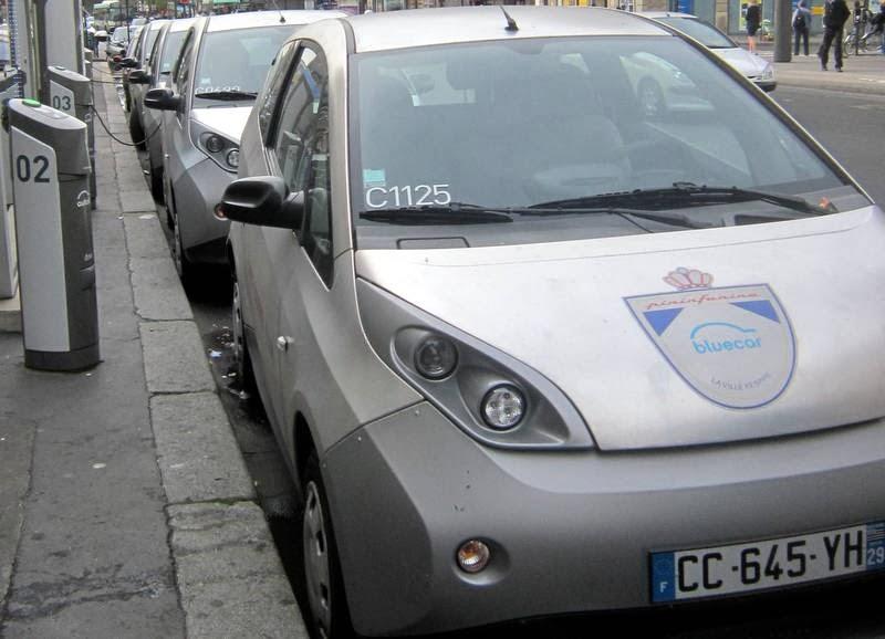 voiture+autolib+Bolloré+Paris+Lyon