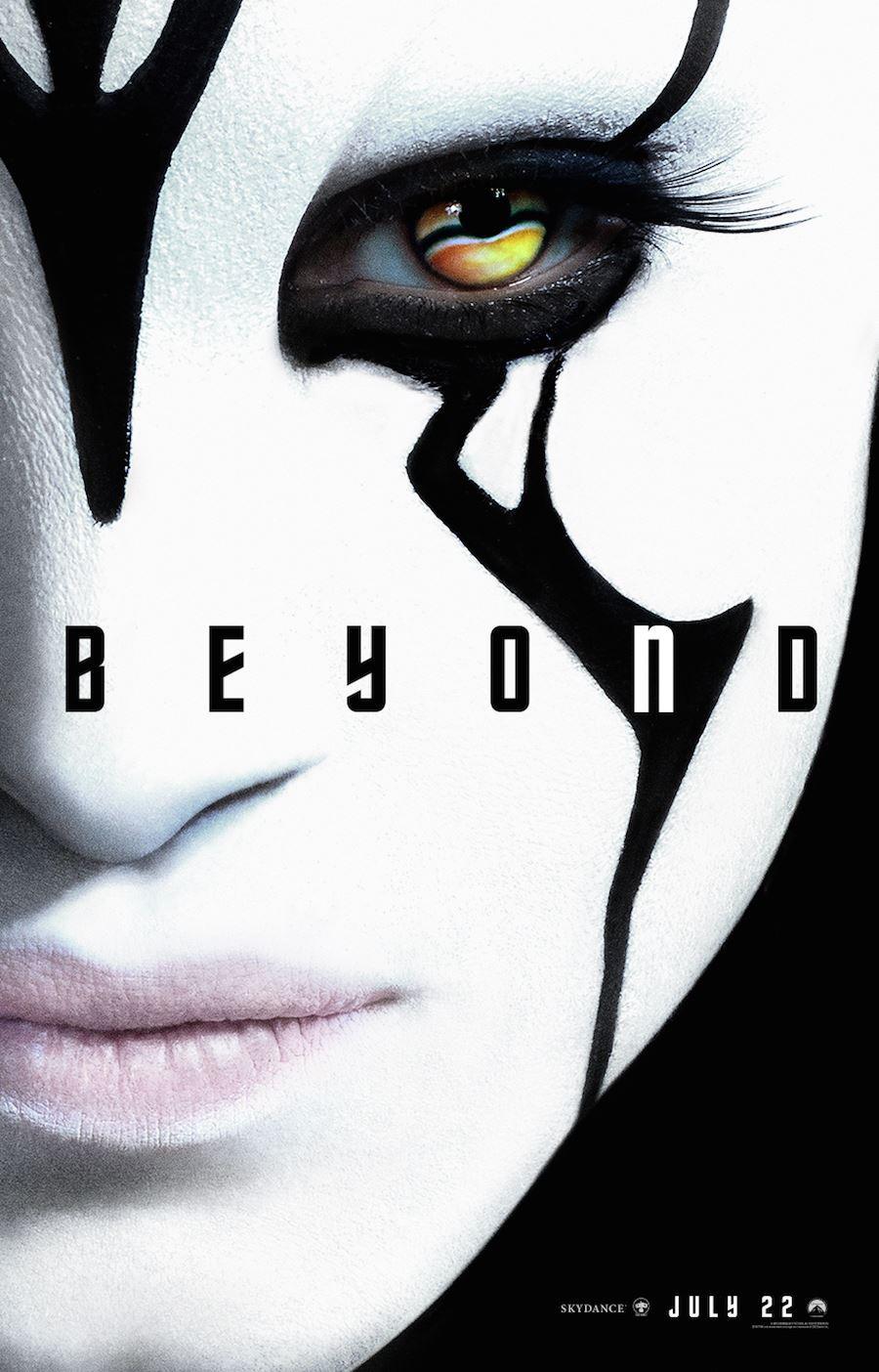 Nuevo póster de 'Star Trek: Más allá' centrado en Jaylah