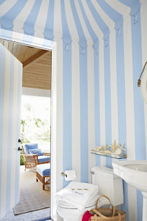 How To Decorate A House With Bold Stripes