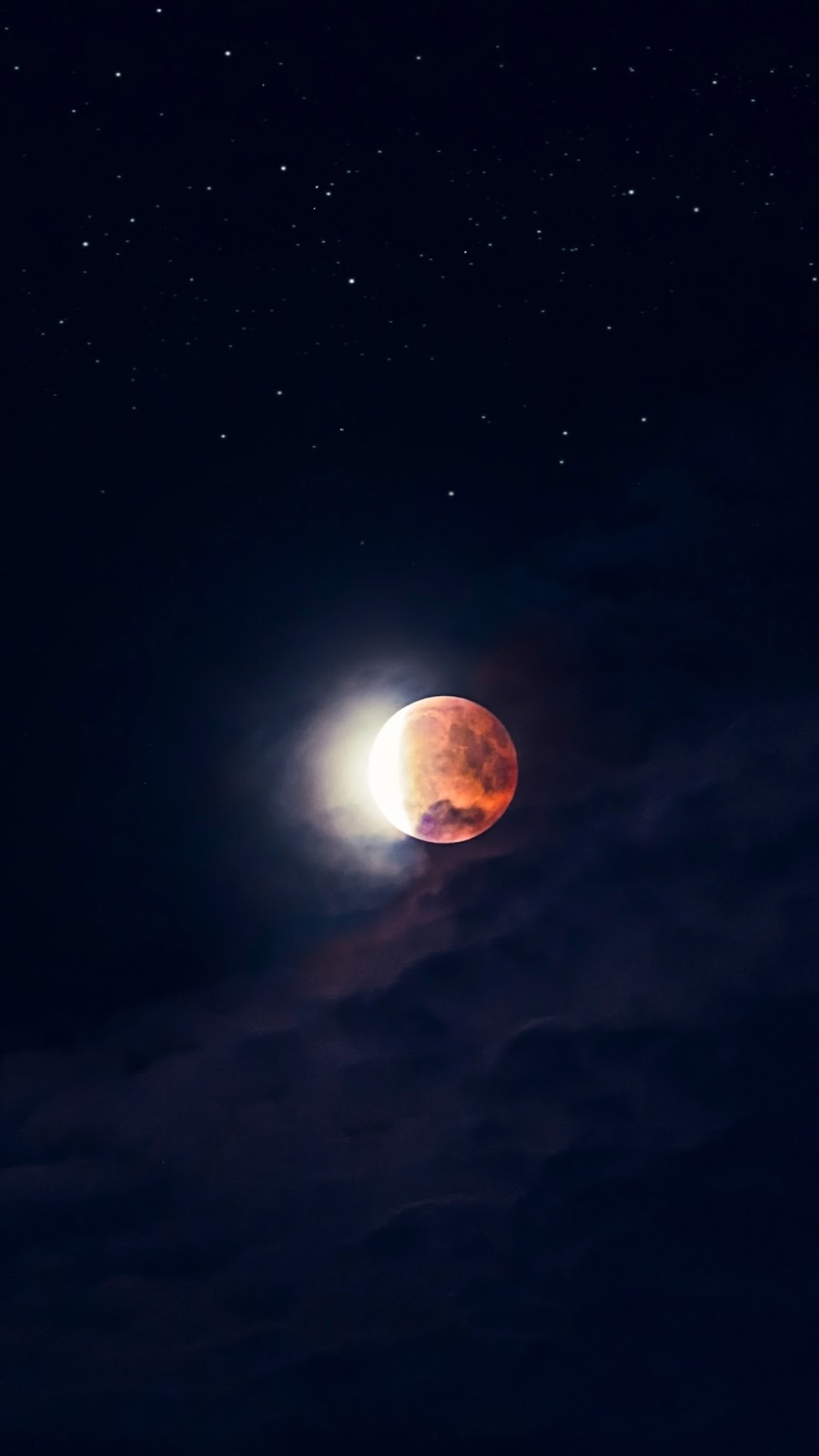Multicolored Moon