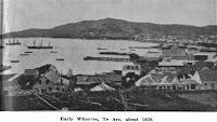 Afueras de Wellington (circa 1850)