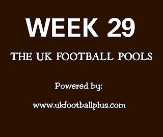 Week 29 UK football pools draws on coupon by ukfootballplus