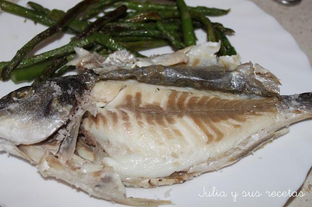 Comidas rápidas con pescado para niños Las Recetas Fáciles de María Dorada a la Sal