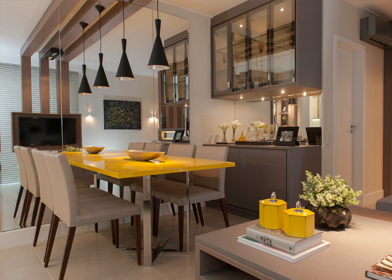 Minha Casa Clean~ Decoracao De Cozinha Na Cor Amarela