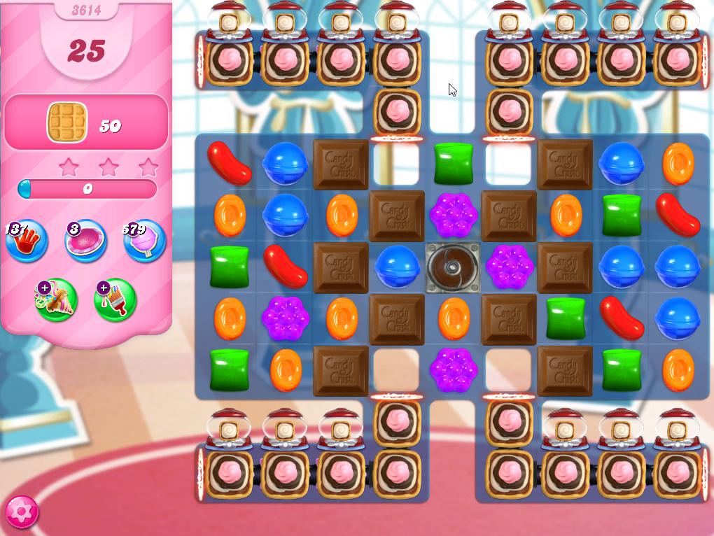 Candy Crush Saga level 3614