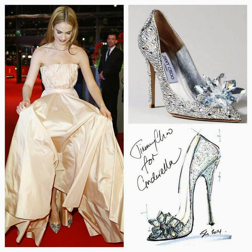 Standout Cinderella Shoes Would Jimmy Choo Yours Prom Gowns And