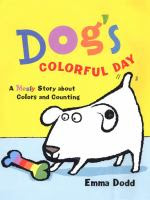 dog storytime, counting story, color storytime