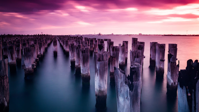 Picture 4: Super sunset in Princes Pier