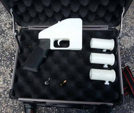Lethal weapon made ​​entirely of plastic and could be rendered undetectable