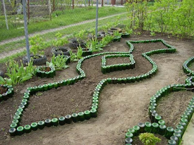 gardening ideas using plastic bottles