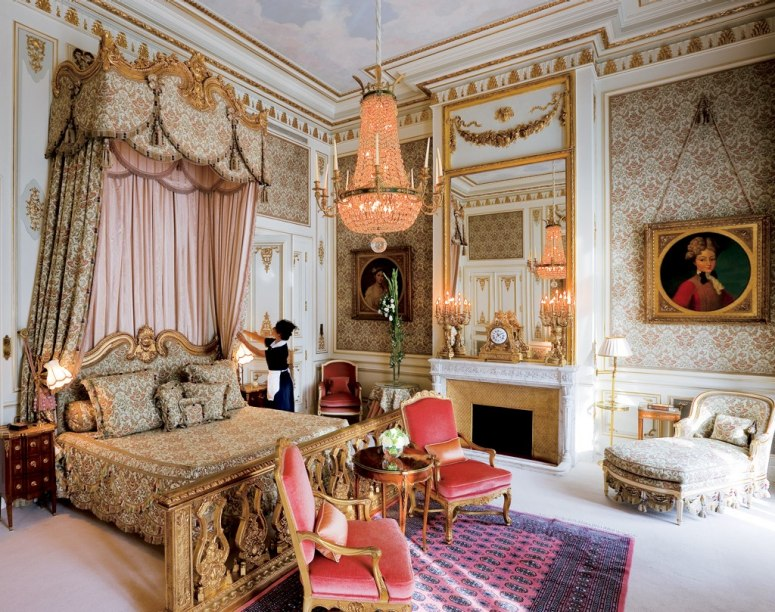 Marie Antoinette Inspired Bedroom