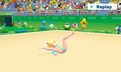 Rosalina leotard Rhythmic Gymnastics Olympic Games