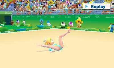 Rosalina leotard Rhythmic Gymnastics Olympic Games