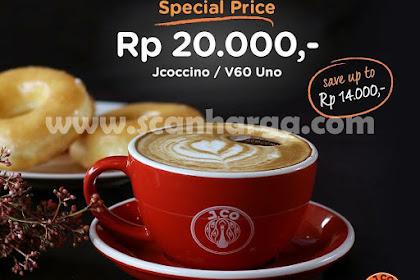 Jco Promo Jcoffee Monday Special Price Rp 20 Ribu Setiap Senin