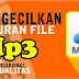 Cara Mengecilkan Ukuran File MP3 Tanpa Mengubah Kualitas