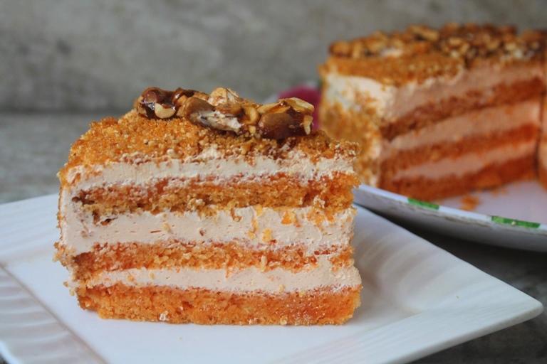 Butterscotch Cake Recipe Joy Of Baking: Butterscotch Fresh Cream Cake