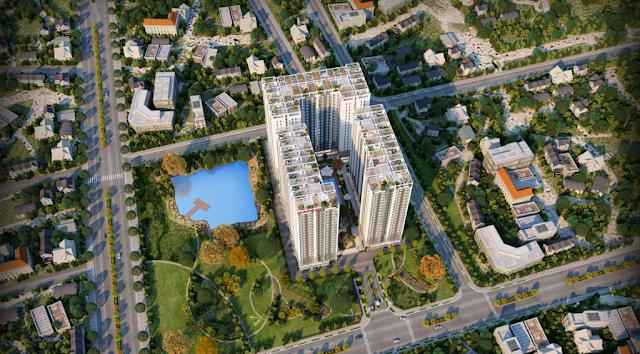 Phối cảnh tổng thế căn hộ prosper plaza