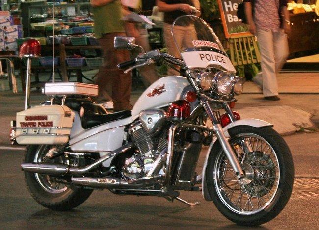 Мотоцикл хонда стид для полиции Таиланда