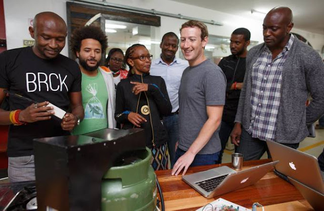 Mark Zuckerberg-Juliana Rotich