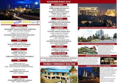 Kalender Even Kota Pekanbaru Sepanjang Tahun
