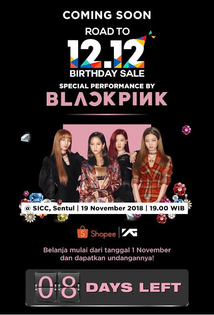 Belanja Produk Black Pink Bisa Dapat Tiket Konser Blackpink? Hanya di Shopee!
