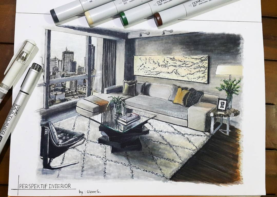 11-Living-Room-Glenn-Geraldi-Drawings-of-Architecture-and-Interior-Design-www-designstack-co