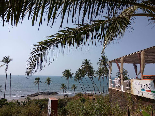 Goa is famous for its beaches and seasites.