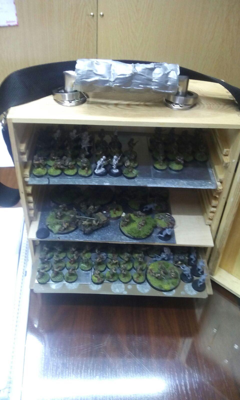 Hobby como transportar las miniaturas - Pintura magnetica precio ...