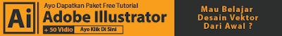Panduan Belajar Adobe Illustrator Lengkap  Panduan Adobe Illustrator Lengkap + 30 Free Vidio Tutorial