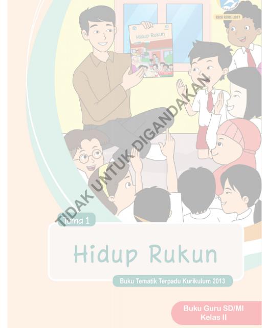 Buku Kelas 2 Kurikulum 2013 Revisi 2017 Semester 1 dan 2 PDF