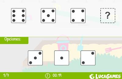 http://www.lucagames.com/logica/continua-la-serie-el-dado