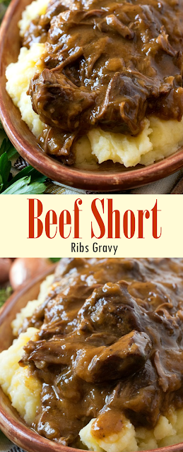 Beef Short Ribs Gravy Eat